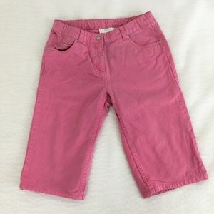 Hanna Andersson Pink Crop Jeans
